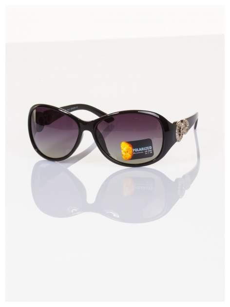 POLARYZACJA Eksluzywne o owalnym kształcie włoskie okulary z dymioną soczewką+GRATISY                                  zdj.                                  1