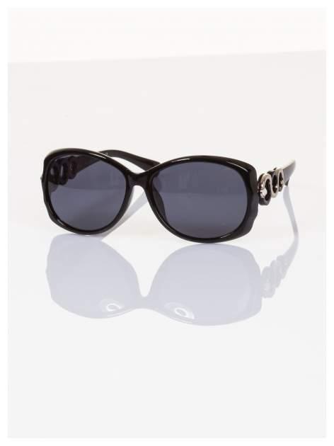 POLARYZACJA Piękne o unikatowym kształcie okulary ze zdobieniami z dodatkową powłoką polaryzacyjną +GRATISY                                  zdj.                                  1