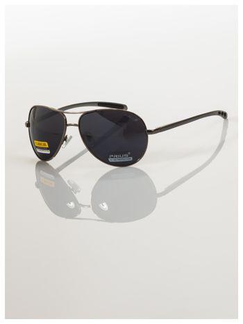 POLYCARBON PRIUS- Pilotki odporne na zarysowania ,unisex okulary przeciwsłoneczne z systemem FLEX na zausznikach                                  zdj.                                  3