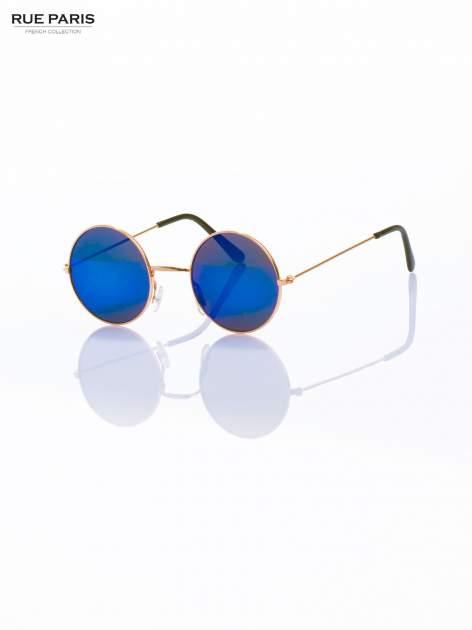 PONADCZASOWE okulary przeciwsłoneczne zielono-niebieskie lustrzanki LENONKI                                  zdj.                                  2