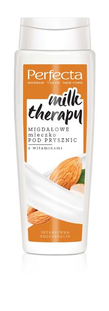 """Perfecta Milk Therapy Mleczko pod prysznic Migdałowe - intensywna regeneracja  350ml"""""""