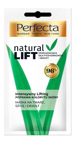 "Perfecta Natural Lift Maseczka odmładzająca - Intensywny Lifting 10ml"""