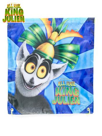 Plecak typu worek z nadrukiem ALL HAIL KING JULIEN