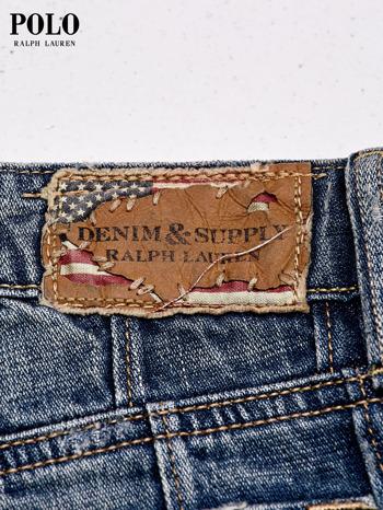 RALPH LAUREN Niebieskie szorty jeansowe trashed                                  zdj.                                  4