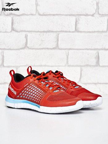 REEBOK Czerwone buty damskie z motywem kratki