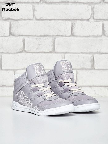 REEBOK Jasnoszare buty damskie za kostkę                                  zdj.                                  2