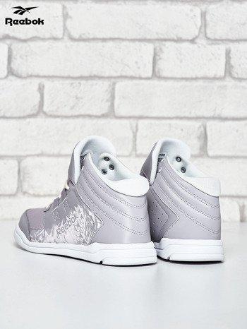 REEBOK Jasnoszare buty damskie za kostkę                                  zdj.                                  4