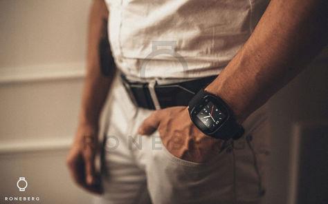 RONEBERG Smartwatch RM26 Współpracuje z Android oraz iOS Powiadomienia Połączenia Krokomierz Monitor snu Biały                              zdj.                              4