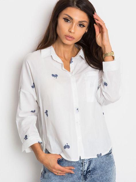 RUE PARIS Biała koszula Prince                              zdj.                              1