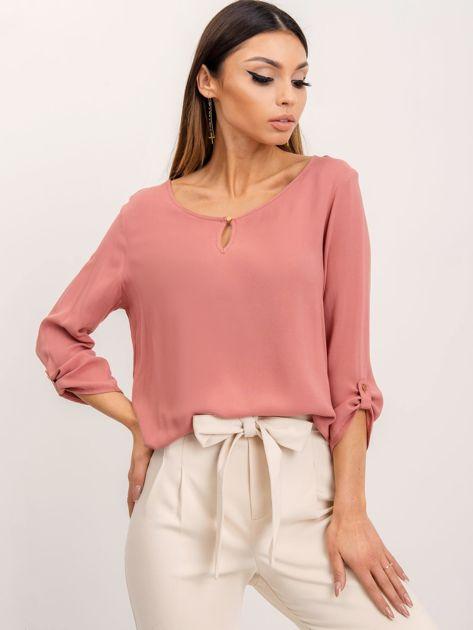 RUE PARIS Brudnoróżowa bluzka Gina