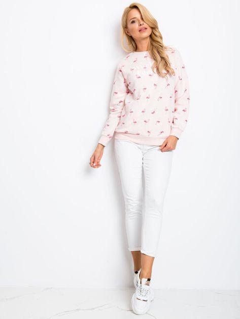 Różowa bluza Flamingoo                              zdj.                              4