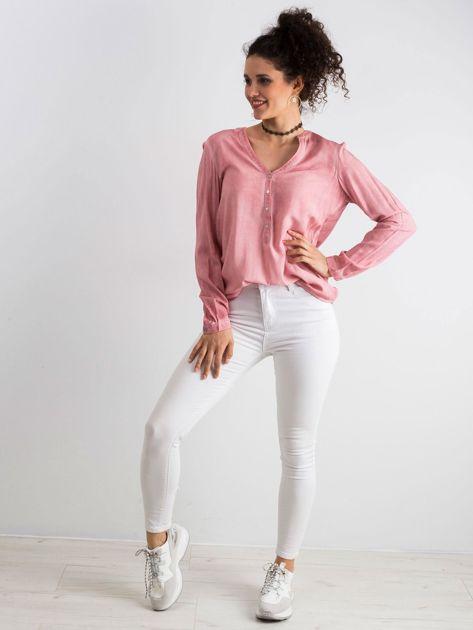 Różowa bluzka Galore                              zdj.                              4