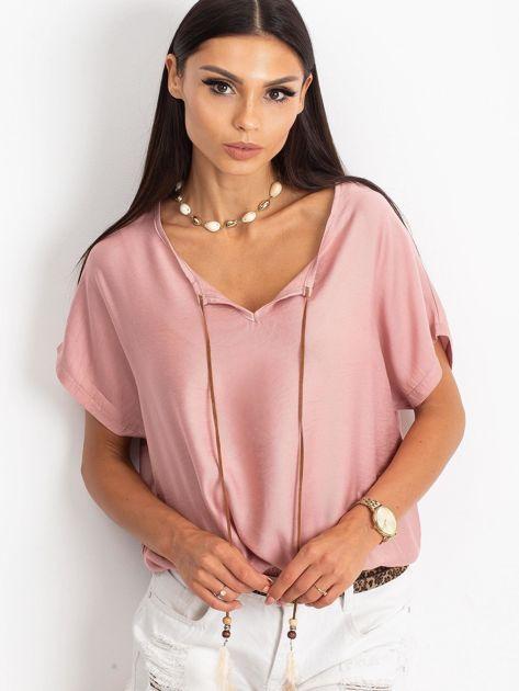 Różowa bluzka Kiss                              zdj.                              1