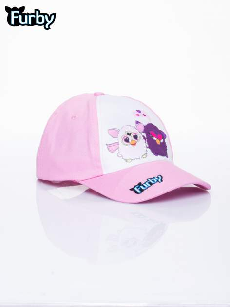 Różowa czapka z daszkiem dla dziewczynki FURBY                                  zdj.                                  2