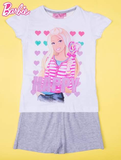 Różowa piżama dla dziewczynki BARBIE                                  zdj.                                  1