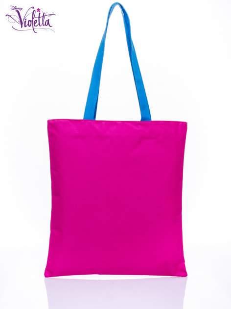 Różowa torba shopper bag dla dziewczynki DISNEY Violetta                                  zdj.                                  2