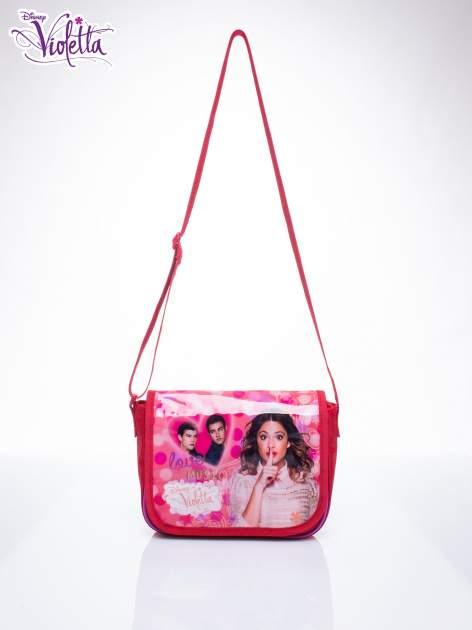 Różowa torba szkolna DISNEY Violetta                                  zdj.                                  1