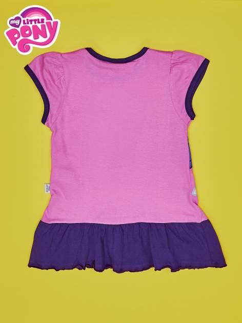 Różowa tunika dla dziewczynki MY LITTLE PONY                                  zdj.                                  2