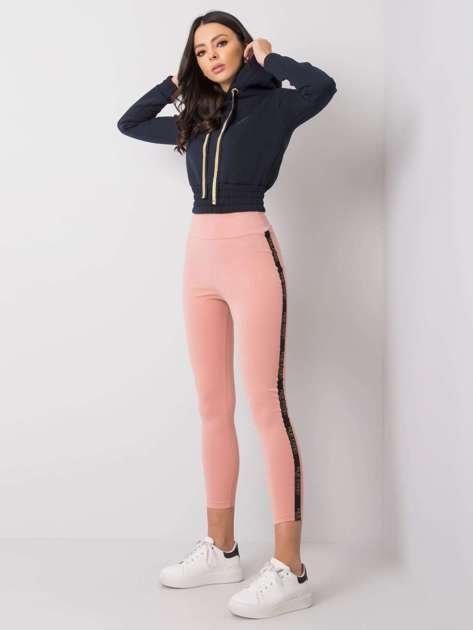 Różowe legginsy Adeline RUE PARIS