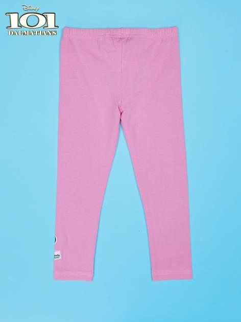 Różowe legginsy dla dziewczynki 101 DALMATYŃCZYKÓW                                  zdj.                                  2