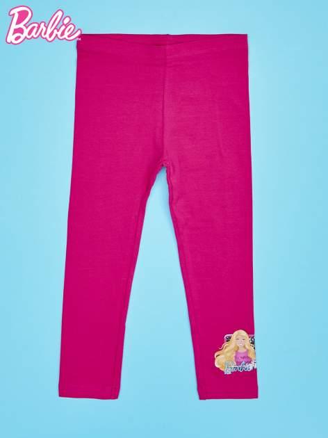 Różowe legginsy dla dziewczynki BARBIE