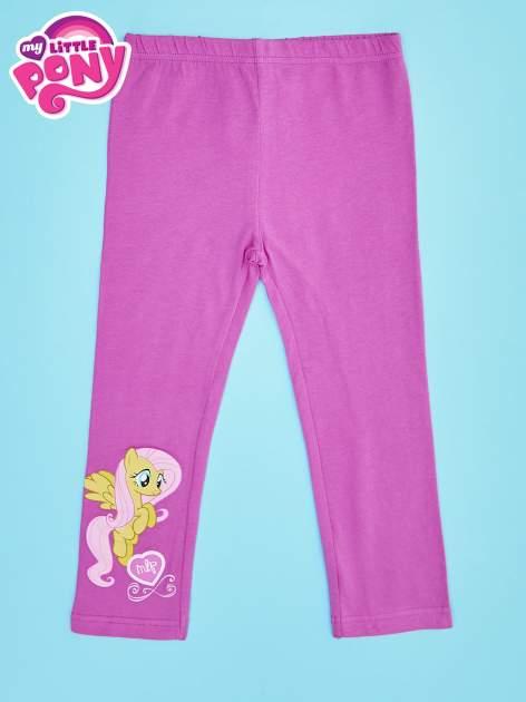 Różowe legginsy dla dziewczynki MY LITTLE PONY                                  zdj.                                  1