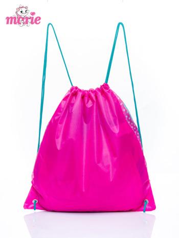 Różowy plecak worek DISNEY kotka Marie                                  zdj.                                  2
