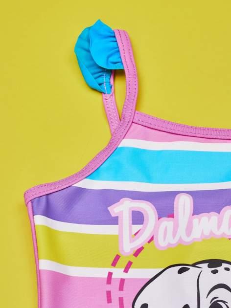 Różowy strój kąpielowy dla dziewczynki 101 DALMATYŃCZYKÓW                                  zdj.                                  5