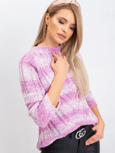 Różowy sweter Madison                              zdj.                              1