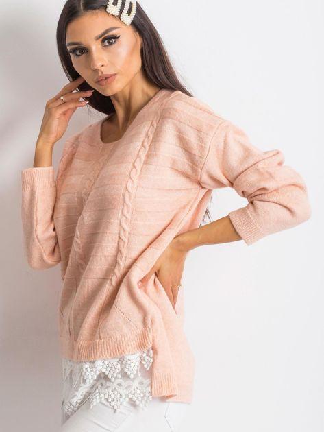 Różowy sweter World                              zdj.                              3