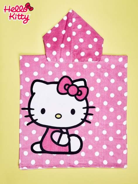 Różowy szlafrok dla dziewczynki HELLO KITTY                                  zdj.                                  2
