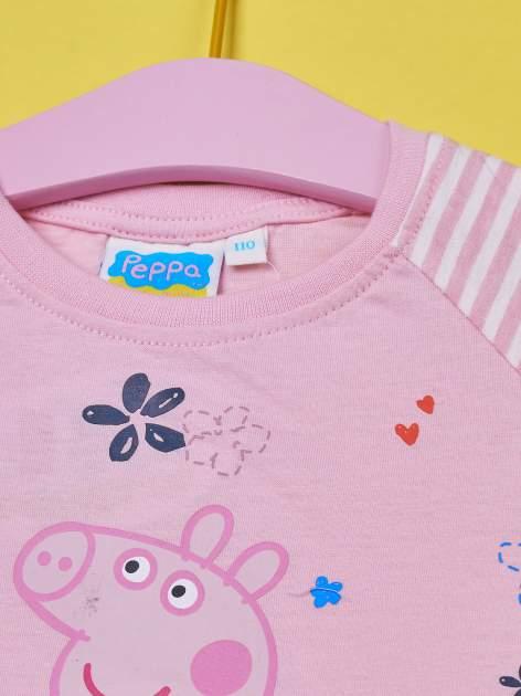 Różowy t-shirt dla dziewczynki ŚWINKA PEPPA                                  zdj.                                  3