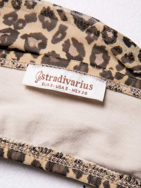 STRADIVARIUS Bralet w panterkowy wzór                                  zdj.                                  3