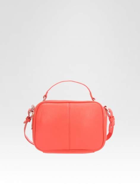 STRADIVARIUS Czerwona torbka listonoszka na pasku