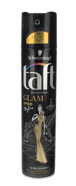 """Schwarzkopf Taft Glam Styles Updo Lakier do włosów ultra strong  250ml"""""""