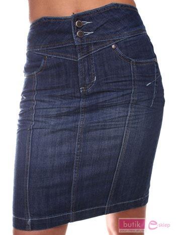 Spódnica jeansowa                                  zdj.                                  3