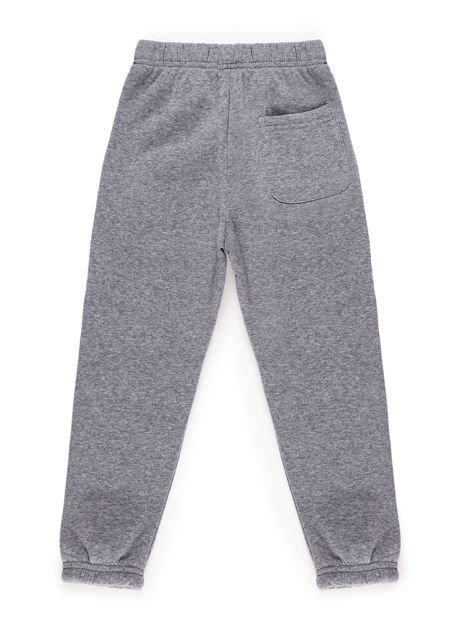 Spodnie dresowe chłopięce ocieplane szare
