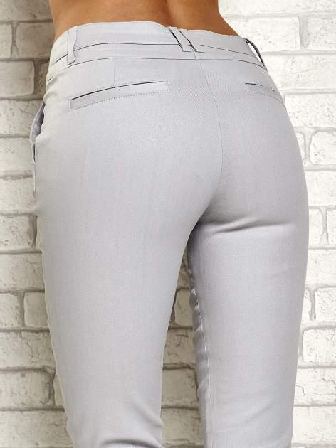 Srebrne brokatowe spodnie                                  zdj.                                  6