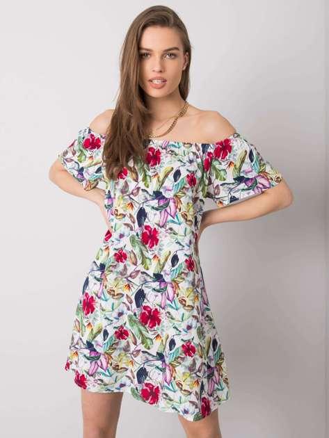Sukienka hiszpanka w kwiaty Raine FRESH MADE