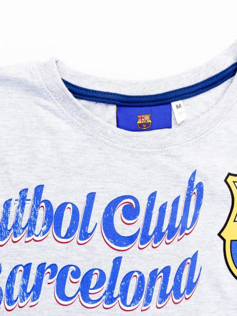 Szara bluzka męska FC BARCELONA                                  zdj.                                  11