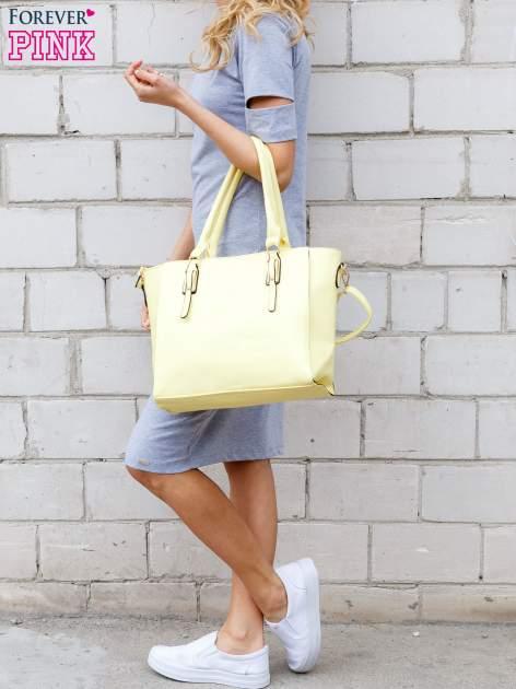 Szara melanżowa sukienka z rozcięciami na rękawach                                  zdj.                                  2