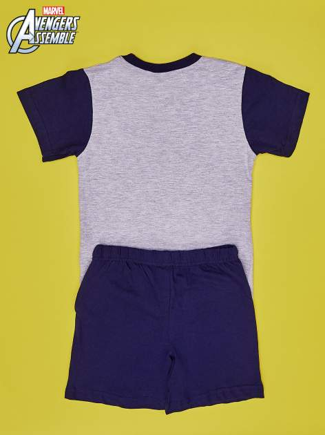 Szara piżama chłopięca AVENGERS