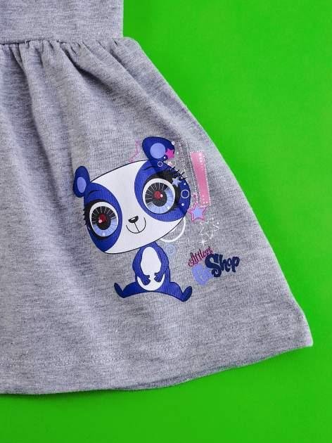 Szara spódnica dla dziewczynki LITTLEST PET SHOP                                  zdj.                                  4