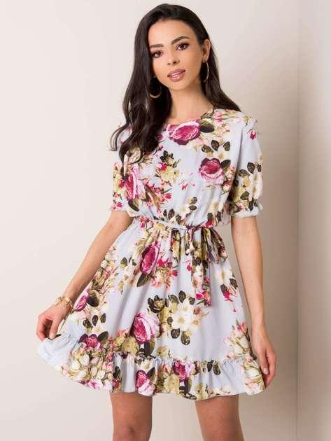 Szara sukienka Jordan