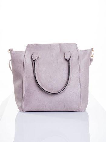 Szara torba shopper bag