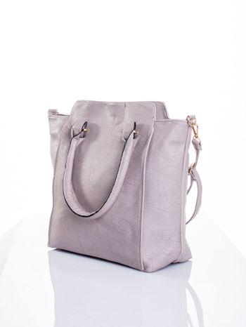 Szara torba shopper bag                                  zdj.                                  5