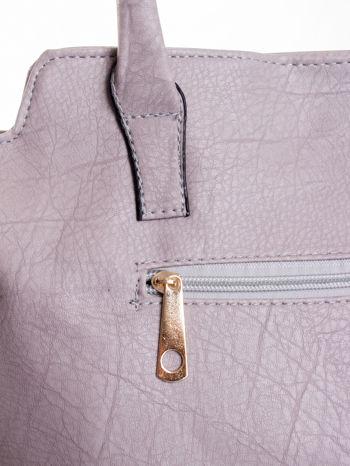 Szara torba shopper bag                                  zdj.                                  8