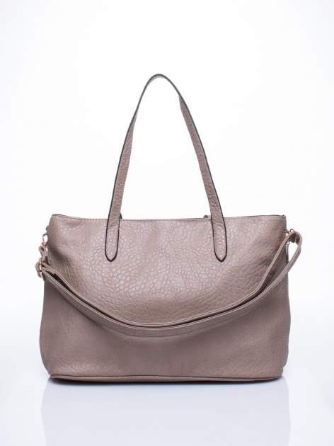 Szara torebka shopper bag