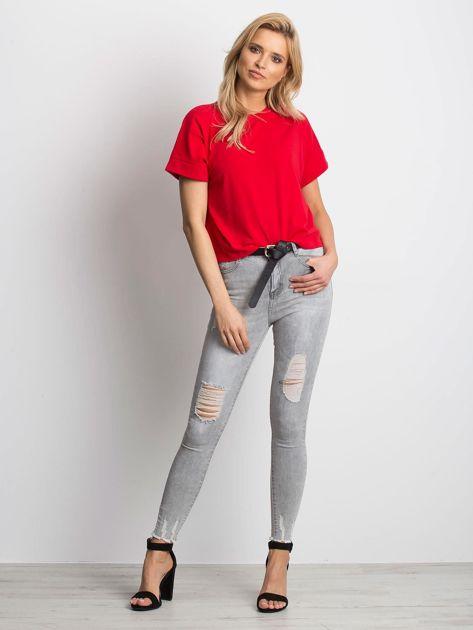 Szare jeansy Formula                              zdj.                              4