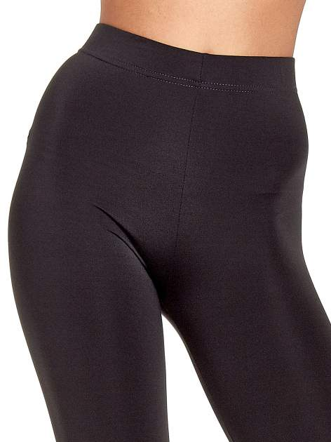 Szare legginsy basic z lekkim ociepleniem                                  zdj.                                  5